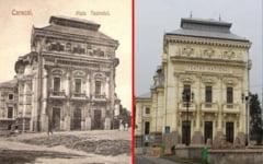 FOTO Teatrul National din Caracal, opera monumentala unica in Romania. Cum a rezistat tumultului istoriei imobilul ridicat la inceputul anilor 1900