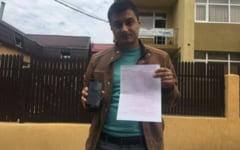 FOTO Un sofer a platit parcarea prin SMS, dar tot a luat amenda. Politistii locali admit ca a fost o eroare si il invita pe barbat sa-i dea in judecata