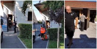 FOTO/VIDEO. Tibi Blaga, executat cu mascatii si Politia