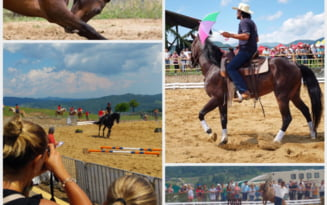 FOTO VIDEO Festival nascut din legendele cu haiduci de la granita imperiului austro-ungar. Haidook Summer Fest, Runcu, editia a II-a