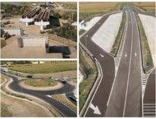 FOTO VIDEO Primul tronson de autostrada din Moldova avanseaza intr-un ritm foarte bun. Cand ar putea fi gata cei 16 kilometri din centura Bacaului