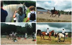 FOTO/VIDEO Relatia dintre om si cal, in centrul atentiei la Campul Benedek