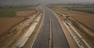 FOTO/VIDEO Ritm sustinut de lucru pe lotul 2 din A10, Sebes - Turda. Grecii de la Aktor au ajuns la aproape 80% stadiu fizic al santierului