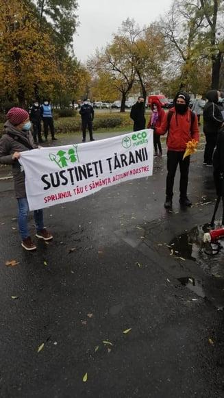 "FOTO Zeci de producatori si lucratori agricoli protesteaza in fata Guvernului fata de inchiderea pietelor. ""Vrem sa muncim, nu sa murim!"""