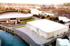 FOTO de la inaltime. Cum arata, in realitate, noua Sala Polivalenta langa Cluj Arena
