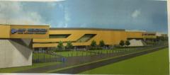 FOTOPLAN. Incepe construirea unei fabrici de 44 de milioane de euro in judet. 600 de locuri de munca