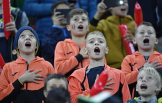 FRF reactioneaza vehement in cazul prezentei copiilor pe National Arena la meciul cu Norvegia