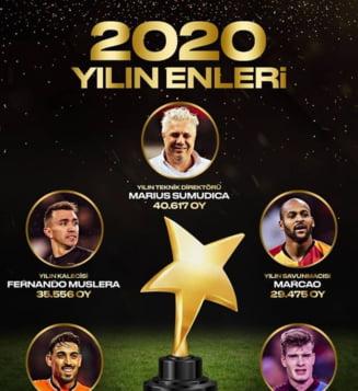"""Fabulos. Sumudica, ales antrenorul anului in Turcia. Romanul l-a invins pe celebrul Fatih Terim. """"Cu astea ramai, banii vin si se duc"""""""