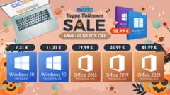 Faceți upgrade la Windows 11 pentru prețuri mici în timpul Godeal24 Halloween Sale!