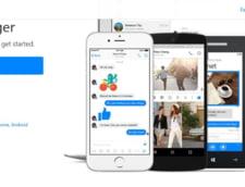 Facebook Messenger poate realiza conferinte video cu pana la 50 de utilizatori