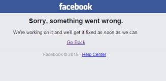 Facebook a picat din nou in toata lumea