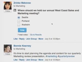 Facebook at Work - aplicatia care vrea sa inlocuiasca mail-ul de serviciu