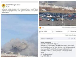Fake news al unui deputat AUR pentru a atrage atentia de ziua lui. Daniel Rusu anunta o poluare inexistenta la Sebes. Replica Garzii de Mediu