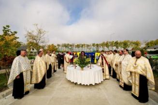 Familia deputatului Alexandru Rotaru ridica o biserica in comuna Dulcesti