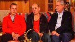 Familia lui Adrian Nastase, la pamant
