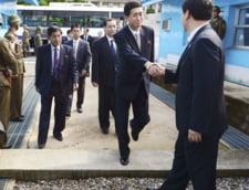 Familiile separate din Coreea de Nord si de Sud se pot intalni