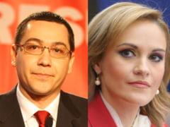 Familistii Gabriela Firea si Victor Ponta, prinsi in capcana campaniei negative