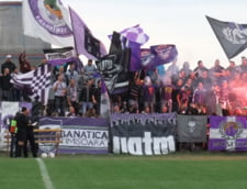 """Fanii """"adevaratei"""" Timisoara au facut din nou spectacol in Liga 3 (Video)"""