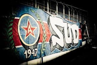 Fanii Stelei acuza FRF: Echipa lui Becali e FCSB, are culorile galben-albastru si sediul in Mogosoaia