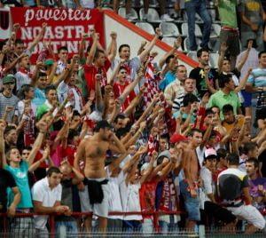 Fanii dinamovisti intra la meciul cu FC Brasov doar cu CNP-ul si semnatura