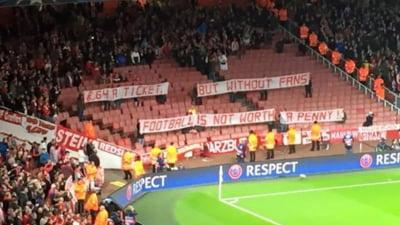 Fanii lui Bayern, protest in Champions League: Reactie superba a englezilor