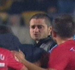 """Fanii lui Dinamo, alaturi de huliganul de la Ploiesti: Banner tulburator al """"cainilor"""""""