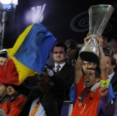 Fanii lui Hamburg au multumit Sahtiorului pentru victoria din finala UEFA