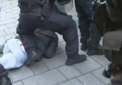 Fanii polonezi au provocat incidente in Romania: S-au batut in centrul Bucurestiului si la stadion - UPDATE