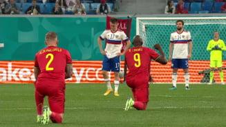 """Fanii rusi i-au huiduit pe belgieni pentru ca au ingenuncheat. Lukaku: """"Am luat-o personal"""""""