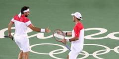 Fantasticii baieti de argint cu suflete de aur! Mergea si Tecau sunt vicecampioni olimpici in proba de dublu
