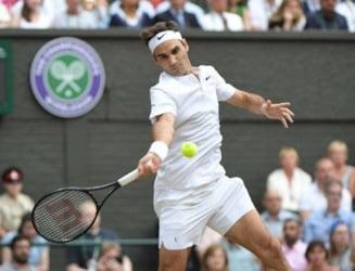Fantasticul Federer castiga Wimbledonul. Moment straniu in timpul finalei