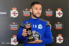 Fara gol marcat, Florin Andone a fost votat jucatorul lunii februarie la Deportivo