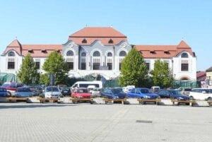 Fara masini in centrul vechi din Baia Mare