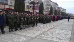 Fara parada militara de 1 Decembrie la Pascani