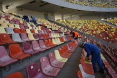 Fara spectatori pe stadioane in acest weekend, chiar daca presedintele Klaus Iohannis a spus ca este permis accesul fanilor