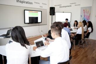 Fara tabla si caiete: Prima clasa digitala din Romania