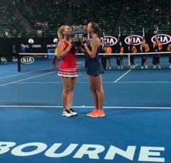 Fara victorie la simplu de cinci luni, Mladenovic a castigat Australian Open la dublu