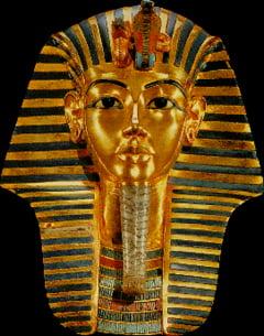 Faraonul Tutankhamon, stramosul europenilor
