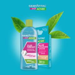 Farmec anunta doua produse noi in gama Gerovital Stop Acnee