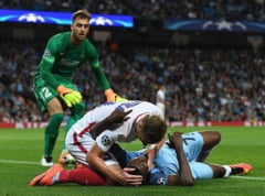 "Faza amuzanta la meciul Stelei cu Manchester City: Mitrea a vrut sa ""resusciteze"" un adversar cu intindere (Video)"