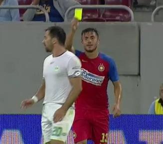 Faza etapei in Liga 1: Ce a facut un fotbalist de la Steaua
