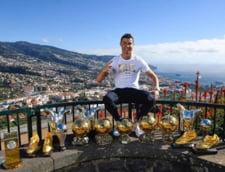 Faza zilei in fotbal: Cristiano Ronaldo si-a etalat toate trofeele