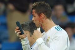 Faza zilei in fotbal: Iata ce a facut Cristiano Ronaldo dupa ce a fost umplut de sange de un adversar