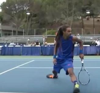 Faza zilei in tenis: A fost legal? (Video)