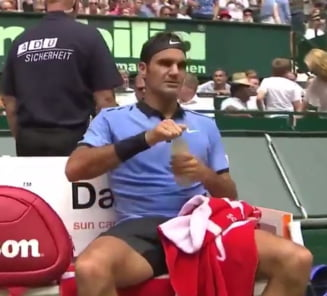 Faza zilei in tenis: Cum a castigat Federer un game in mai putin de un minut (Video)