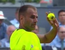 Faza zilei in tenis: Marius Copil l-a lovit pe directorul turneului de la Madrid (Video)