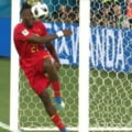 Faza zilei la Cupa Mondiala 2018: Un atacant al Belgiei si-a dat singur cu mingea in fata