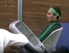 Faza zilei la Australian Open: Reactie incredibila a lui Federer la meciul Sharapovei (Video)