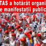 Federatia SANITAS va organiza manifestatii publice in fata Guvernului in zilele de marti, incepand din 3 noiembrie