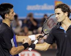 Federer - Djokovici si Nadal - Ferrer, ultimele meciuri tari din 2011